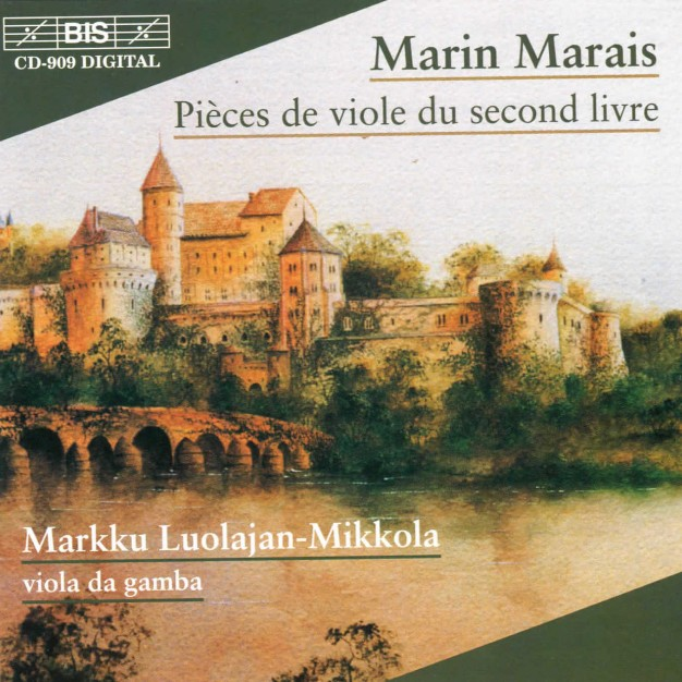 Marin Marais: Pieces de viole du second livre