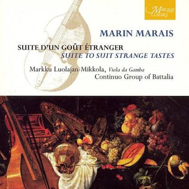 Marin Marais: Trang (Suitte d'un goût étranger)